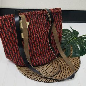 "Handbags - NEW ""The Nthungi"" handmade straw bag woven"